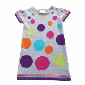 Hanna Andersson Polka Dot Sweater Dress